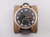 LUC usine L.U.C 161923-1001 poche Wristwatch montre suisse EHG Rose spéciale mécanique à remontage manuel Or 316L Boîtier en acier saphir