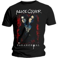 Alice Cooper T-shirt sous licence T-shirt sous licence Rock Paranormal Homme