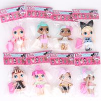 8PCS LOT LoL Surpris Doll with feeding bottle American PVC K...