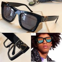 Novo designer de moda óculos de sol 1245 milionário pequeno quadro quadrado proteção ao ar livre avant-garde populares óculos decorativos de alta qualidade