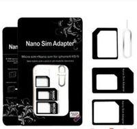 NOOSY NANO 4 في 1 محول بطاقة SIM مجموعة أدوات بطاقة Stander Micro SIM دبوس بطاقة SIM ل iPhone 11 Pro X XS Max XR مع الحزمة