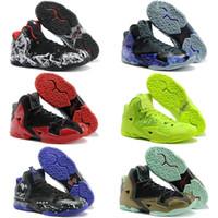 73999ce5d0d Wholesale lebron soldier 11 for sale - Soldier XI Navy Blue men women Kids  Basketball Shoes