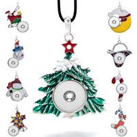 الأزياء للتبادل المعادن شجرة عيد الميلاد الزنجبيل كريستال قلادة 069 صالح 18 ملليمتر المفاجئة زر قلادة قلادة سحر مجوهرات للنساء هدية
