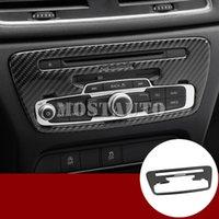 Pour Audi Q3 8U Carbon Fiber Center Console Panneau CD Cover Version 2012-2017 1pcs