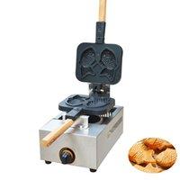 Gaz Mini Şeklinde Balık Waffle makinesi Gaz Mini Şeklinde Balık Waffle makinesi Kek Izgara Japon 1105.R
