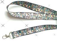 lot 10pcs 20pcs 30pcs 50pcs 100pcs anime Kimetsu no Yaiba lanyard Neck Strap Lanyard Mobile Phone Key Chain ID Badge Key Chain
