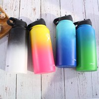 304 Stainless Steel Water Bottle Travel Coffee Mug Wide Mout...