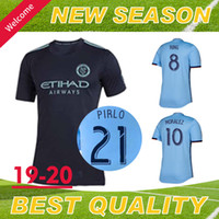 New Top Quality York City FC 2019 Home Blue Soccer Jersey ny...