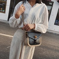 Borse per le donne 2018 Ladies Girls Fashion Straw Shoulder Handbag Tote Purse Crossbody Borse tasjes dames bolsos de paja # XX15