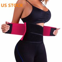 US Ship Hot Body Shapers Unisex Waist Cincher Trimmer Tummy ...