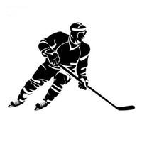 Etiqueta engomada CA-459 del coche de la manera del norte varonil del estilo vigoroso del hockey sobre hielo