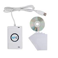 NFC Writer Reader Acr122U-A9 China RFID Lector de tarjetas Admite múltiples sistemas Android Windows USB RFID Lector de NFC