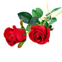Yapay Kırmızı Gül Çiçek Düğün Gelin Buketi sevgililer Günü veya doğum günü Önerin Parti Magic Trick Sahne Ev Dekorasyonu