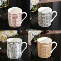 Gute Qualität Bone China Becher Keramik Kaffeetasse Teetasse Paar Tassen Hohe Kapazität Getränkedizine Hochzeit Geburtstag Weihnachtsgeschenk
