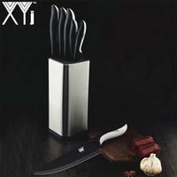 XYj Coltelli Da Cucina 7Cr17 Coltello In Acciaio Inox Carne Congelata Cutter Paring Utility Santoku Chef Affettare Pane Coltello Strumenti di Cottura