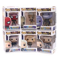 FUNKO POP Avengers: Endgame Justice action figure League Marvel Avengers Super Hero Characters