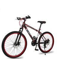 Mountain Bike Bicycle 26 Inch 21 Speed Double Disc Brakes Ad...