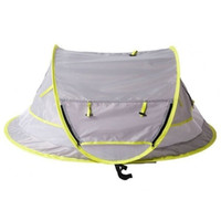 Baby Travel Bed, Portable baby beach tent UPF 50+ Sun Shelte...