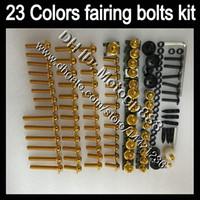 Kit complet de boulons corps OEM pour KAWASAKI NINJA ZXR400 91 92 93 94 95 96 ZXR400 ZXR 400 1991 95 1996 GP10 Carénage écrous vis à vis de boulon kit Nut