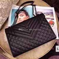 Mulheres Jumbo 31cm x Grande Forma Flap Corrente de Ombro Bolsas Bolsa Mulheres Embreagem Messenger Bag Crossbody Bolsa Shopping Tote