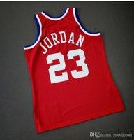 Benutzerdefinierte Männer Jugend Frauen Jahrgang Michael Mitchell Ness 1989 All Star College Basketball-Jersey-Größe S-4XL oder benutzerdefinierte beliebige Namen oder Nummer Jersey