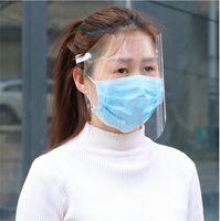 يونيفرسال مواجهة الدرع المضادة للضباب واقية قناع HD شفاف الاطفال الطفل الكبار كامل الوجه النفط سبلاش إثبات أقنعة الغبار حماية الآمن DHL