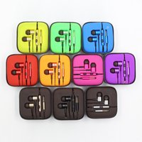 hot Colorful 3. 5mm Metal For samsung piston Headphone Univer...