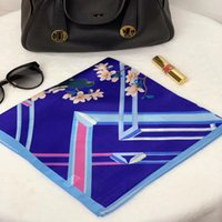 new girls womens 53cm SQUARE 100% Real pure SILK SCARF Silk ...