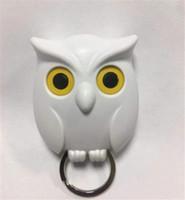 Owl Night Wall магнитный ключ магниты держатель Держите брелок ключа Вешалка крючок висячие клавиша открывает глаза