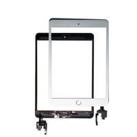 AAA Pour iPad Mini 3 Remplacement de l'écran tactile Digitizer avant Screens Panneau de montage avec Accueil Bouton + IC connecteur