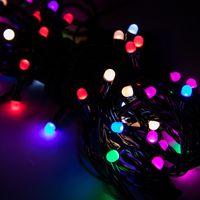 Luzes de Decoração de natal Dia de Controle Remoto LEVOU Colorido Luz Corda Conservação de Energia Romântico Nevoeiro Bolha de Cadeia de Cordas Lâmpada 11xc L1