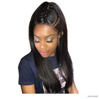 360 Lace Frontal Wig Brazilian Virgin Hair Natural Straight ...