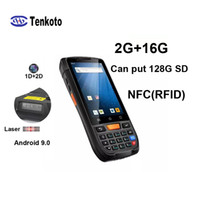 Android NFC PDA 2D Barcode 1D Laser Scanner drahtlose bewegliche RFID POS -Scanning- Versand Barcode Scanner POS