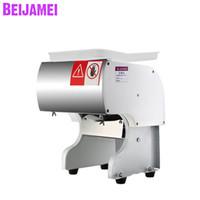 BEIJAMEI Vertikal Gewerbe Fleischschneidemaschine 130 kg / h Fleisch-Schneidezerkleinerungsmaschine Elektrische Schneidemaschine Preis