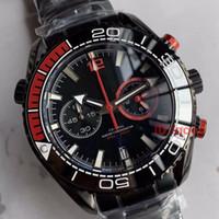 Alta calidad New Ocean Universe 600 Series Relojes de lujo para hombre Relojes de cuarzo Relojes de cerámica Relojes de pulsera de 45 mm