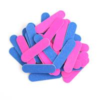 Doppio colore Mini Nail Files insieme 50 / 100Pcs Nail Buffer smeriglitatura di arte del polacco del gel del manicure di rimozione Picc monouso Strumenti