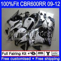 Injection For HONDA CBR 600RR 600F5 CBR600RR Repsol white new 09 10 11 12 282HM.14 CBR 600 RR F5 CBR600 RR 2009 2010 2011 2012 Fairings kit