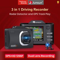 Junsun 2020 جديد 3 في 1 سيارة DVR كاملة HD 1296P الرادار كاميرا GPS المقتفي LDWS رادار Antiradar حوامل السهم روبوت L83 DashCam