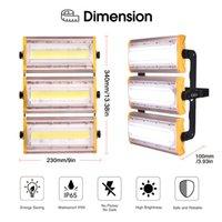 US-Modul LED-Flutlicht 50W 100W 150W Wasserdichtes IP65 Außen 110V Flutlicht Warm / kühle Weiß Lde Licht Bühnenbeleuchtung Garten Außen Balkon
