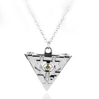 2 اللون الساخن أنيمي الألفية لغز الألفية قلادة قلادة للنساء والرجال مجوهرات اكسسوارات-