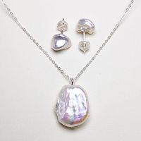 Натуральные жемчужные серьги жемчуга натуральные ожерелье набор серебряных серьги жемчуга для женщин барокко жемчужные серьги изысканные ювелирные изделия свадьба ручной работы подарок ручной работы
