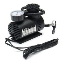 Portable Mini compresor de aire del vehículo eléctrico del neumático del Bomba 12V 300 PSI