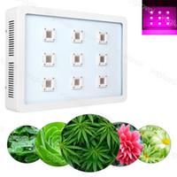 Tam Spektrum LED Işıkları Büyümek 2700 W X9 KOBİ Alüminyum Çift Anahtarı Bitki Kapalı Açık Hidroponik Sera Aydınlatma DHL
