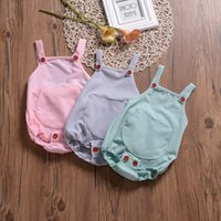 Newborn Baby Girl Clothes 2019 Summer Infant Rompers Jumpsui...