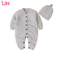 LZH Baby Rompers 2020 Autumn Winter Newborn Baby Overalls Fo...