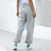 HARAJUKU Joggers Donne Wide Gamba Pantaloni da donna Pantaloni da donna Plus Size Pantaloni in vita alta Streetwear Coreano Casual Pant Femme Caduta