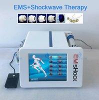 Ударная волна и вакуумное Electric Миостимуляторы Лечение боли Эректильная ED машина Уменьшение целлюлита Физиотерапия оборудование