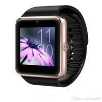 HOT 세일 스마트 시계 GT08 시계와 SIM 카드 슬롯 푸시 메시지 블루투스 연결 안드로이드 전화 Smartwatch를 GT08의 1PCS / 많은