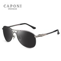 Caponi Driving Photochromic Sunglasses 남성용 편광 안경 카멜레온 변색 남성용 안경 oculos de sol masculino RB8722