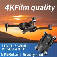 SMRC RC الطائرة بدون طيار، 4K 50 تكبير تايمز HD كاميرا مزدوجة الكهربائية ضبط 90 درجة، 5G WIFI FPV، GPS لتحديد المواقع الذكية متابعة، المسار الطيران، 2-2